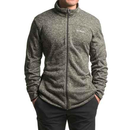 Columbia Sportswear Birch Woods Fleece Jacket (For Tall Men) in Shark - Closeouts