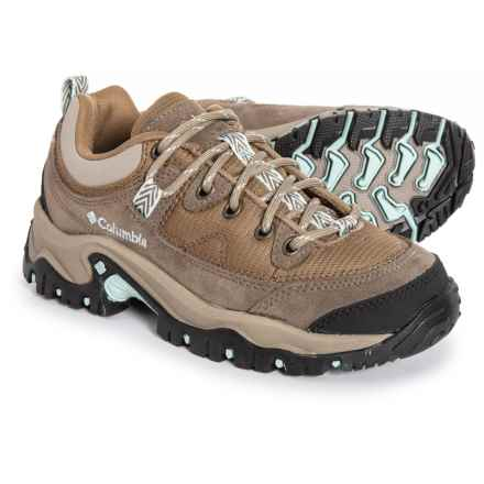 Columbia Sportswear Birke Trail Hiking Shoes (For Women) in Flax/Icecap