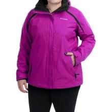 Columbia Sportswear Blazing Star Interchange Jacket - 3-in-1 (For Plus Size Women) in Groovy Pink/Black - Closeouts