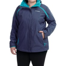 Columbia Sportswear Blazing Star Interchange Jacket - 3-in-1 (For Plus Size Women) in Nocturnal/Atoll - Closeouts