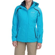 Columbia Sportswear Blazing Star Interchange Jacket - 3-in-1, Insulated, Omni-Shield® (For Women) in Atoll/Nocturnal - Closeouts