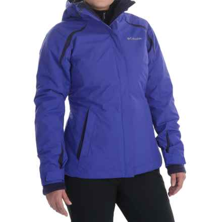 Columbia Sportswear Blazing Star Interchange Jacket - 3-in-1, Insulated, Omni-Shield® (For Women) in Light Grape/Inkling - Closeouts