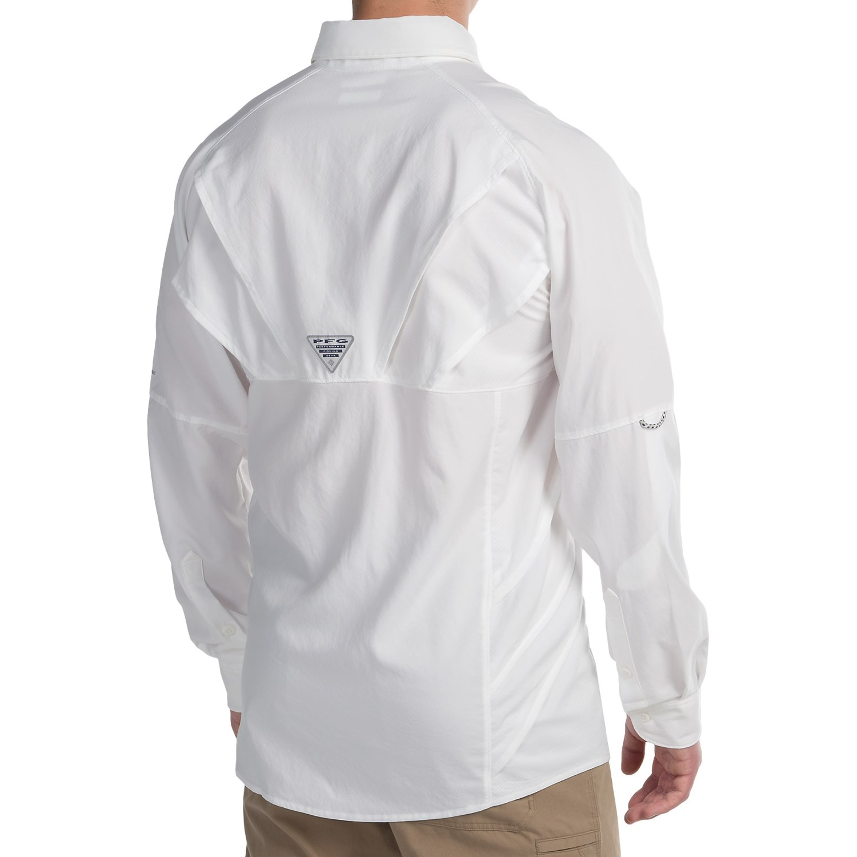 Columbia sportswear blood and guts airgill shirt for men for Men s upf long sleeve shirt