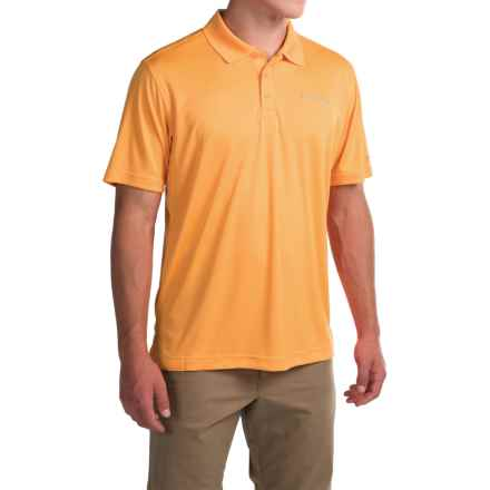 Columbia Sportswear Blood and Guts Omni-Shield® Polo Shirt - UPF 50, Short Sleeve (For Men) in Amber - Closeouts