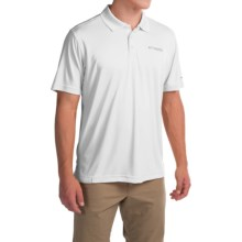 Columbia Sportswear Blood and Guts Omni-Shield® Polo Shirt - UPF 50, Short Sleeve (For Men) in White - Closeouts