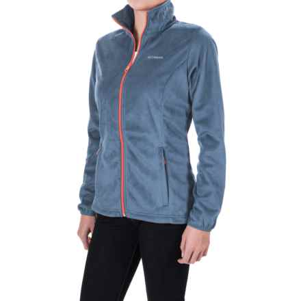 Columbia Sportswear Blustery Summit Fleece Jacket (For Women) in Bluebell - Closeouts