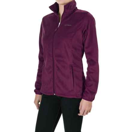 Columbia Sportswear Blustery Summit Fleece Jacket (For Women) in Purple Dahlia - Closeouts