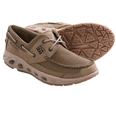 Columbia boatdrainer men 39 s omni grip boat shoes pfg for Columbia fishing shoes