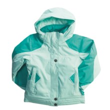 Columbia Sportswear Bohemian Boarder Jacket - Insulated (For Little Girls) in Shimmer - Closeouts