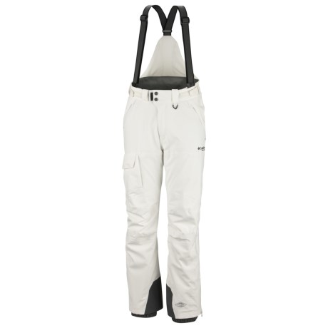 Columbia Sportswear Boiling Point II Pants - Waterproof, Insulated (For Men) in Sea Salt