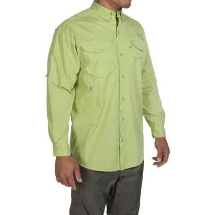 Columbia Sportswear Bonehead Fishing Shirt - Long Sleeve (For Men) in Napa Green - Closeouts