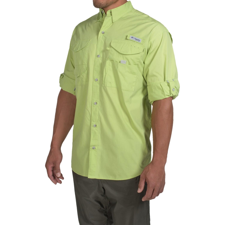 columbia sportswear bonehead fishing shirt for men