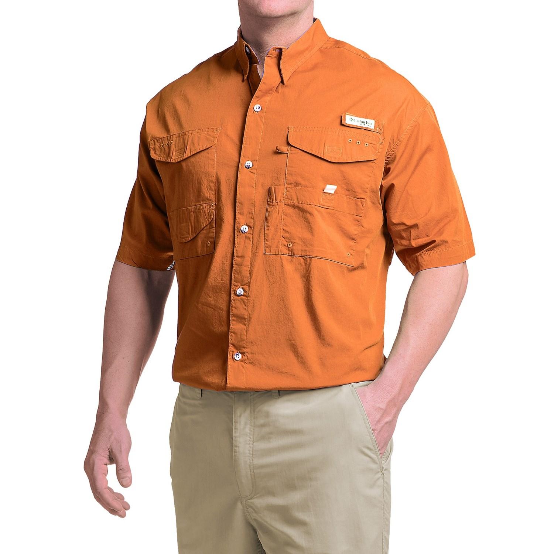 columbia sportswear bonehead fishing shirt short sleeve