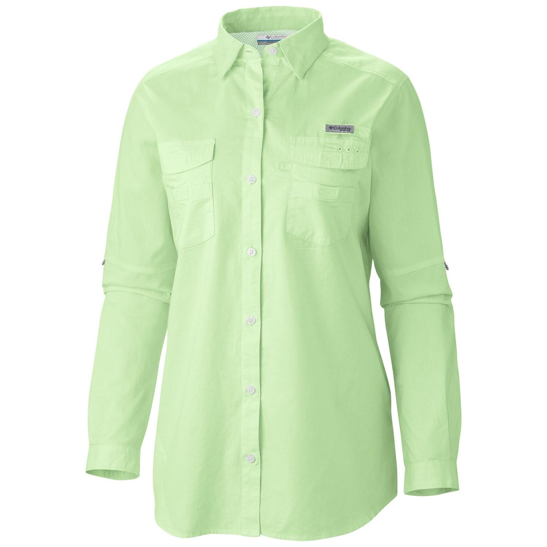Columbia sportswear bonehead ii shirt long sleeve for for Columbia bonehead fishing shirt