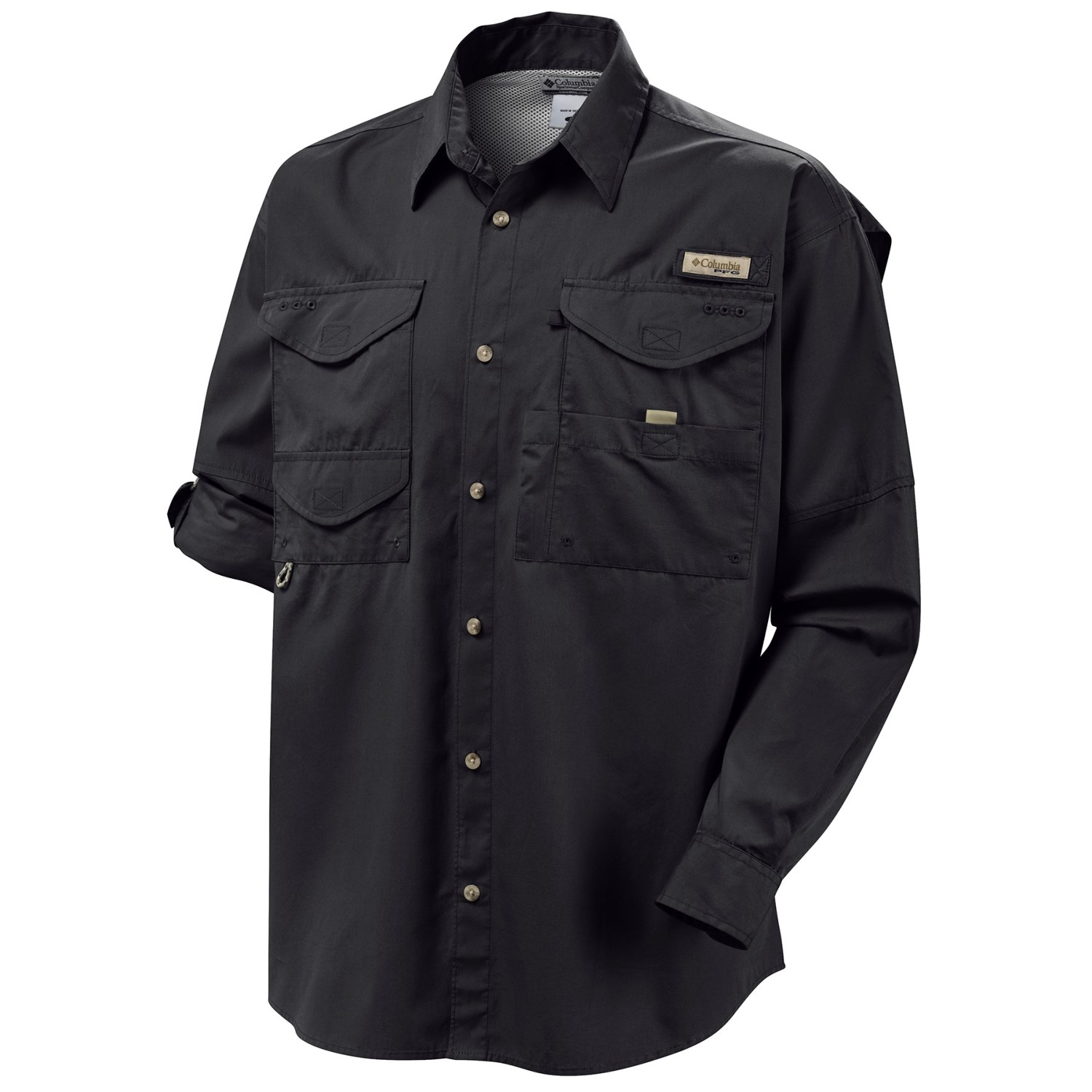 Columbia sportswear bonehead shirt long sleeve for big for Design your own t shirt big and tall