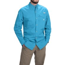 Columbia Sportswear Bonehead Shirt - Long Sleeve (For Big and Tall Men) in Bounty Blue - Closeouts