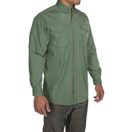 Columbia Sportswear Bonehead Shirt - Long Sleeve (For Big and Tall Men) in Commando - Closeouts