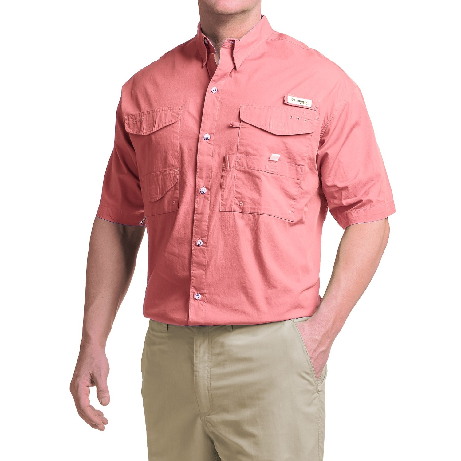 Columbia sportswear bonehead shirt short sleeve for big for Design your own t shirt big and tall