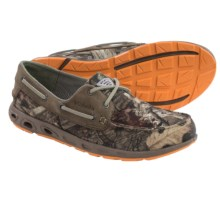 Columbia Sportswear Bonehead Vent Camo PFG Boat Shoes (For Men) in Mossy Oak/Verdant - Closeouts