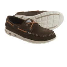 Columbia Sportswear Bonehead Vent PFG Boat Shoes - Nubuck (For Men) in Cordovan/Elk - Closeouts