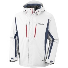 Columbia Sportswear Boom Runner II Omni-Heat® Omni-Tech® Jacket (For Men) in Sea Salt - Closeouts