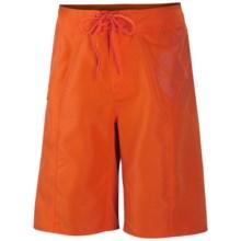 Columbia Sportswear Bouncing Rock II Logo Boardshorts - UPF 30 (For Men) in Spark Orange - Closeouts
