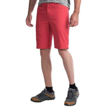 Columbia Sportswear Bridge to Bluff Shorts - Slim Fit, UPF 50 (For Men) in Sunset Red - Closeouts