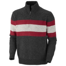 Columbia Sportswear Bridge Too Far Sweater - Zip Neck (For Men) in Black Heather - Closeouts