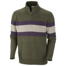 Columbia Sportswear Bridge Too Far Sweater - Zip Neck (For Men) in Gravel Heather - Closeouts