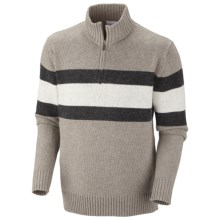 Columbia Sportswear Bridge Too Far Sweater - Zip Neck (For Men) in Kettle Heather - Closeouts