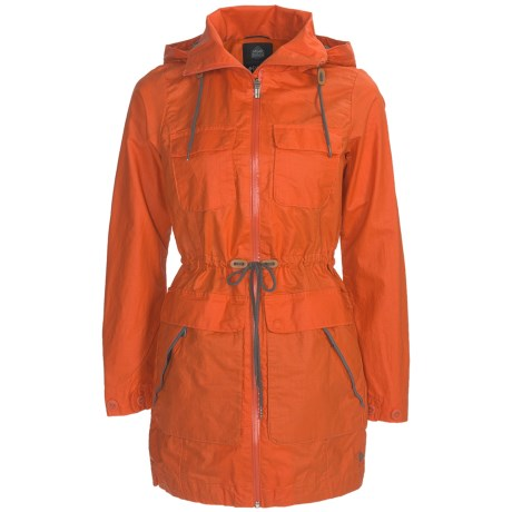 Columbia Sportswear Brooklyn Avenue Safari Jacket - Waxed Cotton (For Women) in Autumn Orange