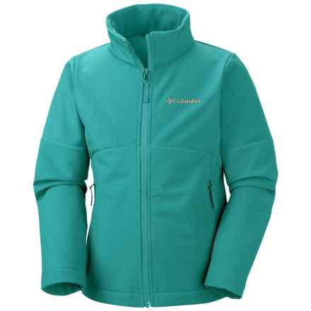 Columbia Sportswear Brookview Soft Shell Jacket (For Big Girls) in Miami - Closeouts