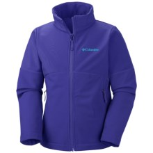 Columbia Sportswear Brookview Soft Shell Jacket (For Girls) in Light Grape - Closeouts
