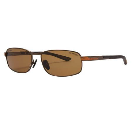 Columbia Sportswear Bryce Sunglasses - Polarized in Brown/Cedar/Smoke
