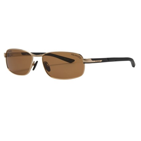 Columbia Sportswear Bryce Sunglasses - Polarized in Gold/Black/Brown