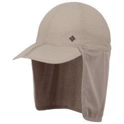 Columbia Sportswear Bug Me Not Cachalot Hat - UPF 30 (For Men and Women) in Fossil