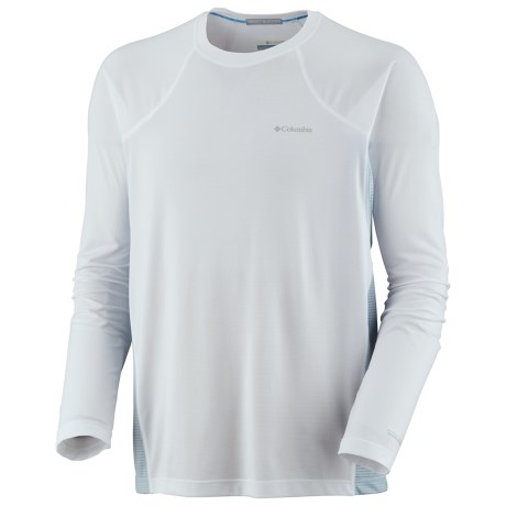 Columbia Sportswear Bug Shield Base Layer Top - Lightweight, Long Sleeve (For Men) in White