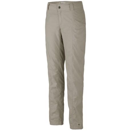 Columbia Sportswear Bug Shield Cargo Pants - UPF 30, Straight Leg (For Women) in Flint Grey