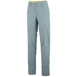 Columbia Sportswear Bug Shield Cargo Pants - UPF 30, Straight Leg (For Women) in Flint Grey