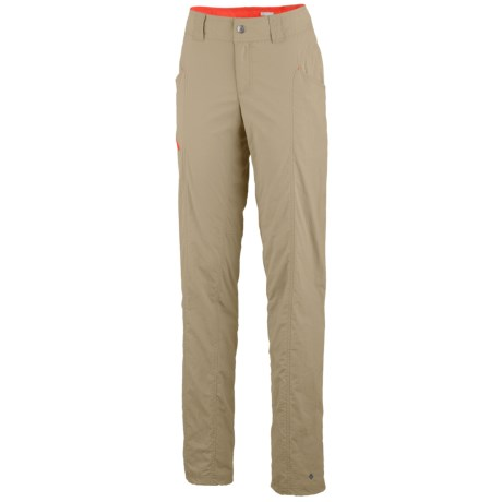 Columbia Sportswear Bug Shield Cargo Pants - UPF 30, Straight Leg (For Women) in Light Metal