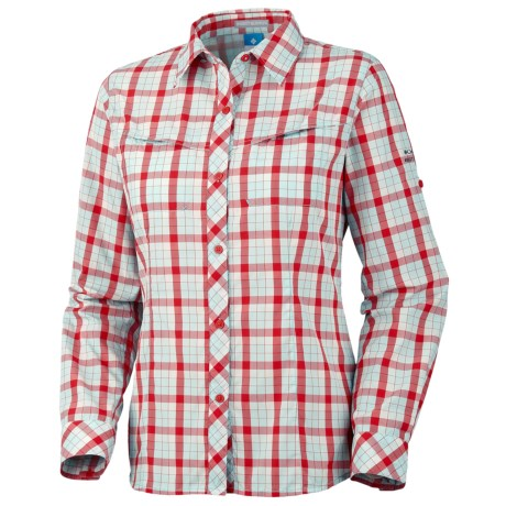 Columbia Sportswear Bug Shield Plaid Shirt - UPF 30, Long Sleeve (For Women) in Wind