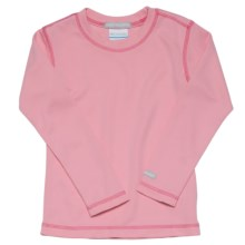 Columbia Sportswear Bug Shield Shirt - Long Sleeve (For Girls) in Primrose - Closeouts