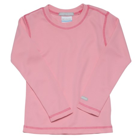 Columbia Sportswear Bug Shield Shirt - Long Sleeve (For Girls) in Primrose