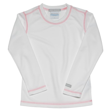 Columbia Sportswear Bug Shield Shirt - Long Sleeve (For Girls) in White