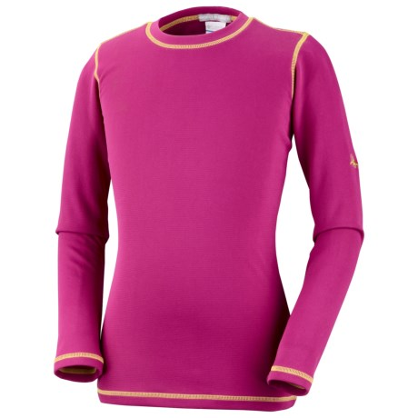 Columbia Sportswear Bug Shield Shirt - Long Sleeve (For Little Girls) in Fuchsia