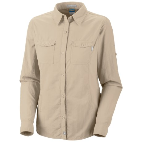 Columbia Sportswear Bug Shield Shirt - UPF 30, Insect Blocker®, Long Sleeve (For Women) in Fossil