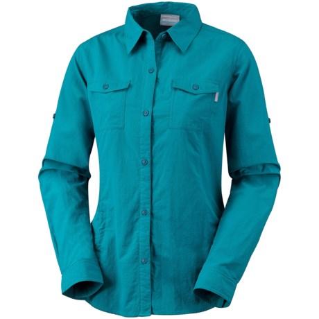 Columbia Sportswear Bug Shield Shirt - UPF 30, Insect Blocker®, Long Sleeve (For Women) in Siberia
