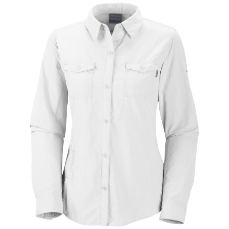 Columbia Sportswear Bug Shield Shirt - UPF 30, Insect Blocker®, Long Sleeve (For Women) in White