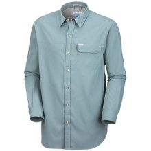 Columbia Sportswear Bug Shield Shirt - UPF 30, Long Sleeve (For Men) in Stone Blue - Closeouts