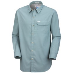 Columbia Sportswear Bug Shield Shirt - UPF 30, Long Sleeve (For Men) in Stone Blue